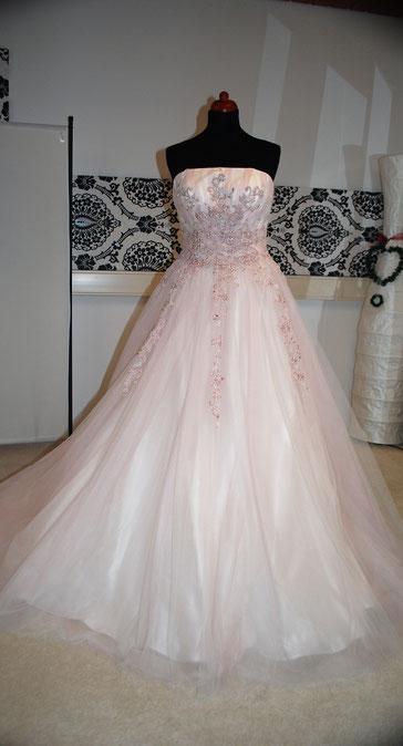 Brautkleid rosa