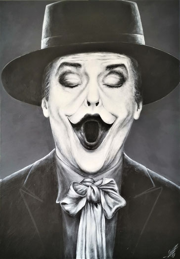 """The Joker"", 2019, acrylic on canvas, 70x100"