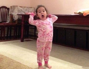 Assads daughter wakes us up