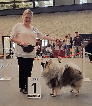 Inara-Hanni von der Römerroute in Mechelen Belgien Ausstellung Jug EXC 1