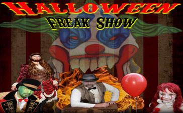 YouTube Video Halloween Zirkus 2018 vom Halloween Projekt Lüneburg