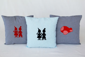 Emma with love Gingham Pillows