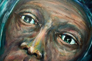 Gesicht, Augen, Nase, Stirn, Wangen