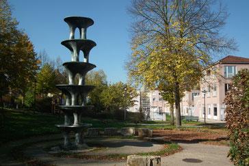 Näätzröllje, Brunnen, Marktschule, Anger, 1967