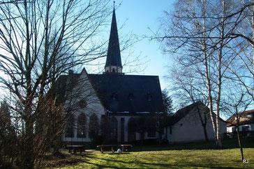 Johannesstraße 33, Ev. Kreuzkirche, Herrensohr, 1908-1909, Architekt Eduard Arnold