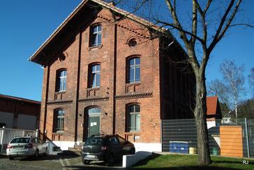 Dudweiler Schlachthof, Verwaltungsgebäude, 1901