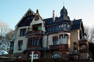 Saarbrücker Straße 192, Dudweiler, Villa Micka, Bj. 1910, schönstes Haus von Dudweiler