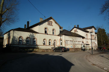 Bahhof, Bahnhofstraße, 1870, Dudweiler, Saarbrücken