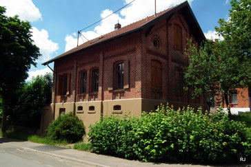 Schlachthofstraße 50, Dudweiler, Kulturhaus Schlachthof, 1901, Architekt W. Bartholomè
