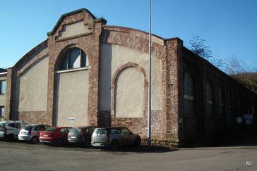 Grube Jägersfreude, Waschkaue, 1910