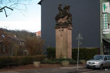 Denkmal, Gefallene, Erster Weltkrieg, Jägersfreude, Hauptstraße
