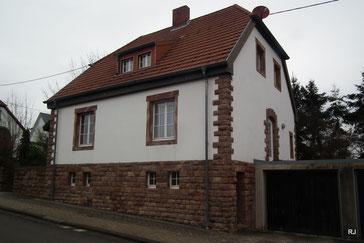 Pfählerstraße 18, Dudweiler, Pfählerhäuser, 1908-09, Architekt Vector Hendler