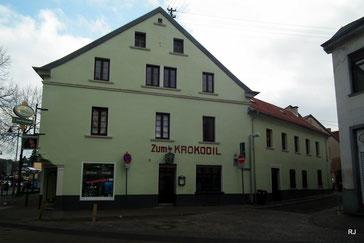 Saarbrücker Straße 236, Saarbrücken Dudweiler, Bj. vor 1841, Krokodil