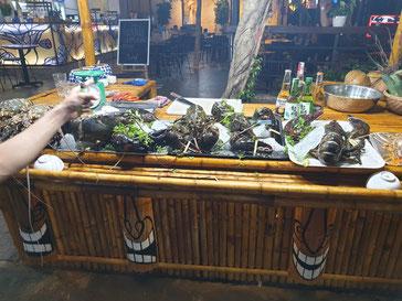 Hummer auf dem Nachtmarkt von Hoi An