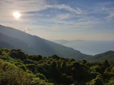Hai Van Pass zwischen Da Nang und Hue, Vietnam