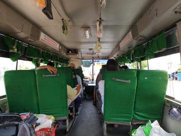 Vietnamesischer Bus, Da Nang nach Hoi An