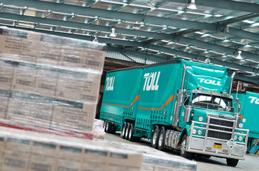 Toll is facing job losses in Australia