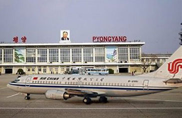 No more Air China flights to Pyongyang