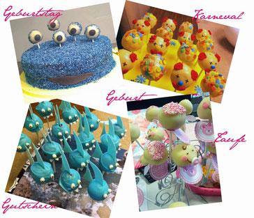 cake pops für jeden Anlass