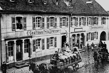 Dudweiler, Saarbrücker Straße, Gasthaus Brenner