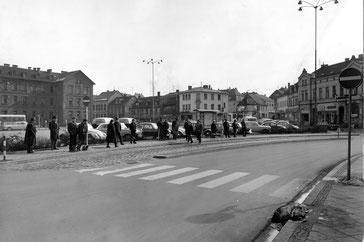 Dudweiler, Markt, Marktschule, 1965