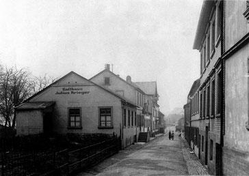 Dudweiler, Luisenstraße, Gasthaus Krieger,