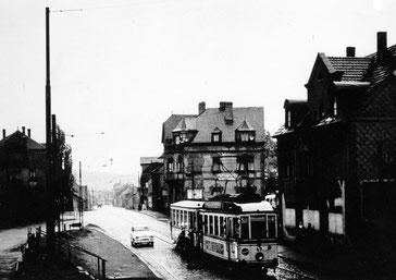 Dudweiler, Saarbrücker Straße, Straßenbahn