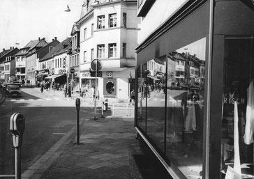 Dudweiler, Saarbrücker Straße, 1965