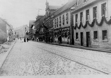 Dudweiler, Saarbrücker Straße, 1900