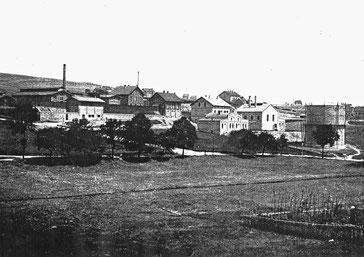 Dudweiler, Schlachthof, Gemeindewerke, Gasbehälter