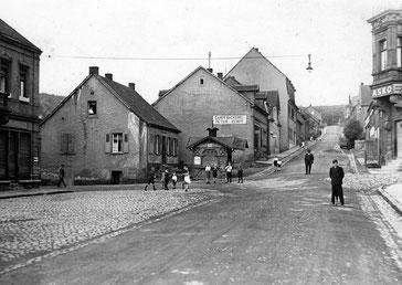 Herrensohr, Dudweiler, Marktstraße, 1920