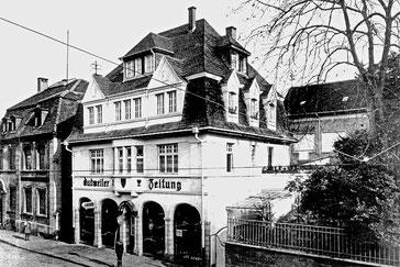 Dudweiler Zeitung, Alte Post, Saarbrücker Straße