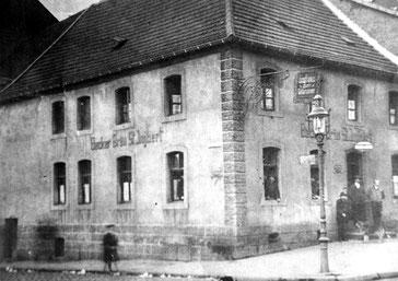 Dudweiler, Saarbrücker Straße, Eckbrunnen, 1931