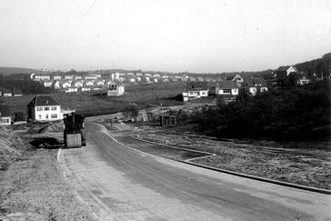 Dudweiler, Liesbet-Dill-Straße, 1955, Pfaffenkopf