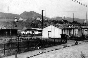 Dudweiler, Sulzbachtalstraße, Baracken, Bergehalde, Grube Hirschbach