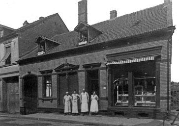 Dudweiler, Saarbrücker Straße 225, Metzgerei Moschel