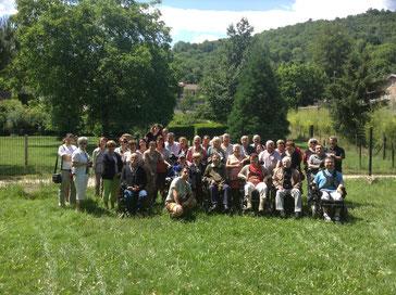 Le groupe pour les grillades de juin 2015
