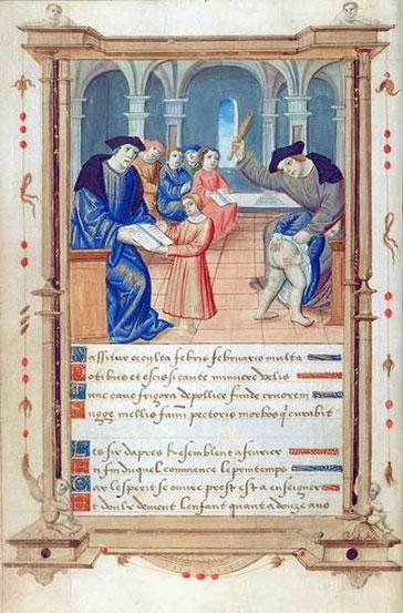 Livre d'heures de Marie Chantault, début XVIè siècle, BnF.