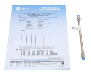 Dionnex SC-150 Prontosil 150x4.6mm 5um HPLC  Column 120-5-C18-SH für die Chromatographie/ Chemie