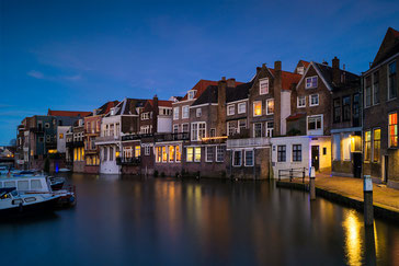 Dordrecht-Wijnhaven at night