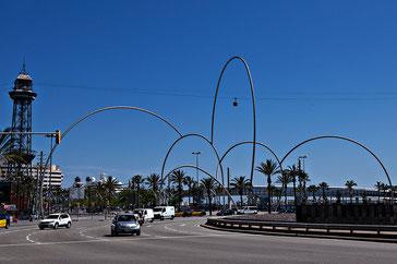 Волны  - памятники и скултьптуры Барселоны