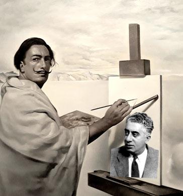 Сальвадор Дали - встреча с Арамом Хачатуряном