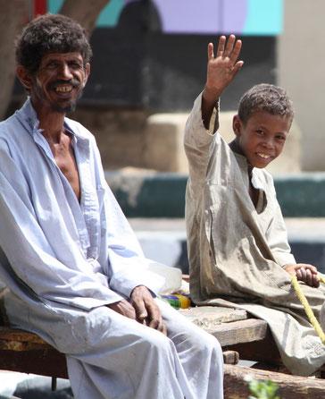 Freundlichkeit - Nubien