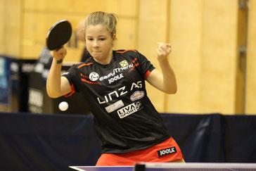 Maienburg Aurelie Tischtennisspielerin LINZ AG Froschberg