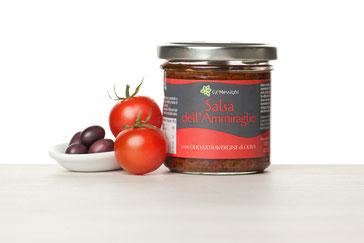 salsa dell'ammiraglio, olio extravergine