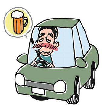 飲酒運転の割合