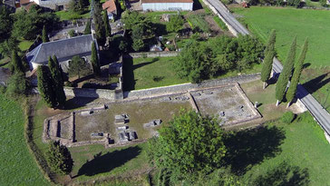 Site archéologique église paléochrétienne à Saint-Bertrand de Comminges