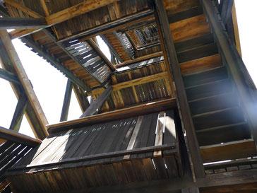Treppen des Goetheturm