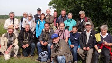 Naturfreunde vom LBV am Kühkopf
