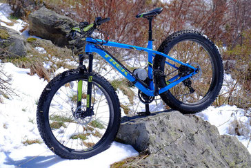 ELECTRIC FAT BIKE with our electric motor kit